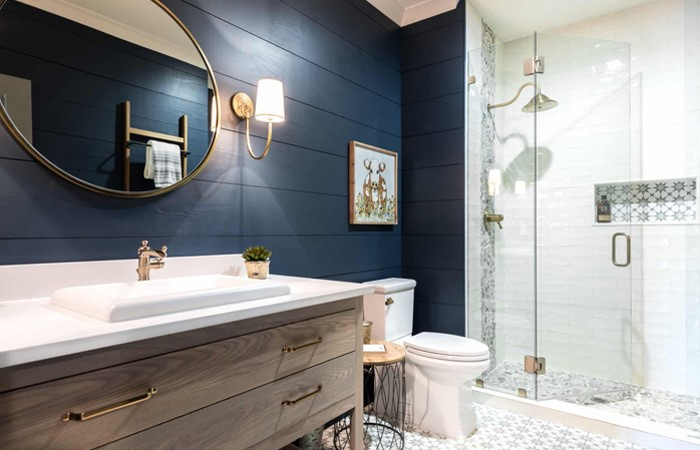 Other Ideas for Bathroom Walls Instead of Tiles