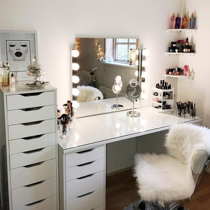 9 Beautiful Diy Vanity Table Ideas Makeup Houmse